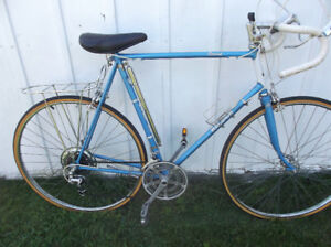 Tall Mens  Vintage Raleigh Record 12spd Roadbike 65cm