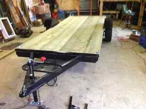 13' Flat Bed Trailer