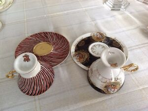 CHINA CUPS/SAUCERS ASSORTED