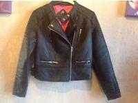 Atmosphere ladies waist jacket size: 12 used £4