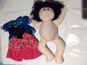 Sweet cloth doll and clothes $10 London Ontario image 2