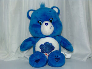 "13"" Care Bears Sing Along Grumpy Bear. Interactive. ""Like New"""