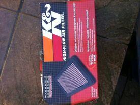 Honda civic ep2/eu8 K and N pannel filter