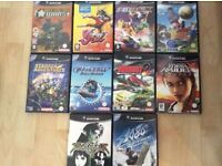 10 GameCube games - clear out.