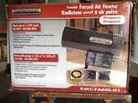 Portable Forced Air Heater (propane)