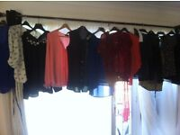 17 lovely ladies summer tops all to fit size 14