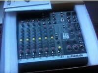 Allen and Heath Zed10fx mixer analogue digital audio interface with effects NEW