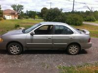 2002 Nissan Sentra need gone