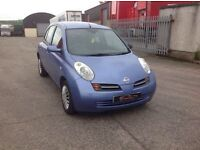 24/7 Trade sales NI Trade Prices for the public 2004 Nissan micra 1.4 SE Automatic 5 door