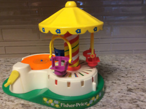 Fisher Price Little People Merry-go-round