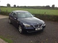 2007 BMW 523 I SE Automatic met blue full mot full heated leather