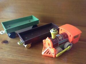 Vintage Fisher Price Train and wagon