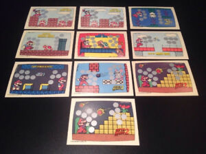 1989 Topps Nintendo Scratch Off Cards Full Set Of 60 MT-NM.