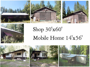 7.48 Acres for Sale 6 km. from Mabel Lk & min. to Shuswap River