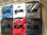 Ralph Lauren men's polo t shirt long sleeves £18 each small pony
