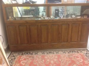 Jewelers bench and display case