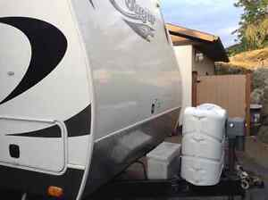Cougar Travel Trailer 21rbswe