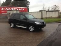 24/7 Trade sales NI Trade Prices for the public 2007 Hyundai Santa FE 2.2 CRTD CDX Black