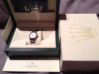 Lady Rolex datejust 178274  very good condition, box and papers
