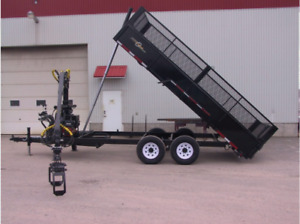 On-Road Forestry Dump Trailer with Grapple*Includes Ship to BC*