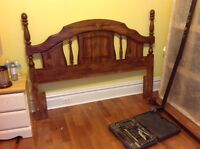 Queen Headboard and frame