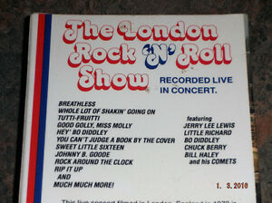 THE LONDON ROCK 'N' ROLL SHOW VHS