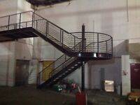 STEEL STAIRCASE FROM KELVIN HALL.