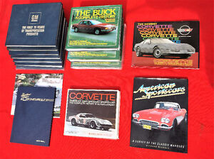 Collection of GM automotive books