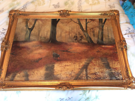 Nigel hemming - oil on canvas