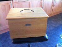 Wooden bread bin for sale