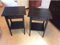 IKEA hemnes bedside / side tables