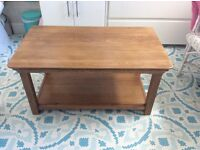 Oak Furnitureland Coffee Table or TV Table