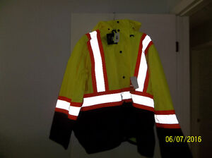 Mens Forcefield High Visibility Rain Suit New -XXL Yellow