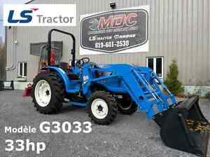 LS Tractor G3033 avec treuil Norse 350
