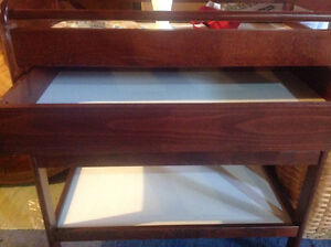 High End Caramina Cherry Change Table From West Coast Strathcona County Edmonton Area image 4