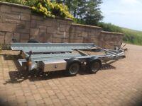 Ifor Williams car transporter