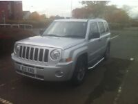 Jeep Patriot 2.0 ltr CRD LIMITED.