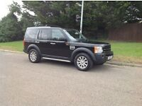 2008-08 Reg land rover discovery 3 TDV6 SE model top spec satnav 7seater leather fully loaded