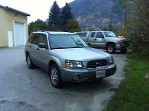 2005 Subaru Forester XS LL Bean Edition SUV, Crossover