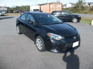 WOW LOW KMS  2014 TOYOTA COROLLA LE ONLY 51000 kms