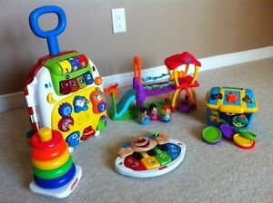 Assorted baby toy package