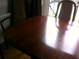 Rosewood 6 chairs (2 carvery & 4 without armrests)