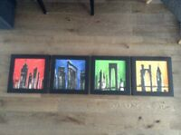 Contemporary Skyline Art