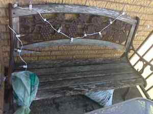 Best offer - wood and iron bench