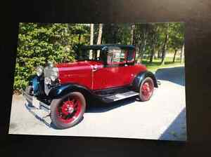 1930 Ford Model A w/Rumble seatFrame-up Restauration to Original