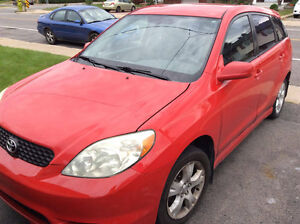 2004 Toyota Matrix Berline
