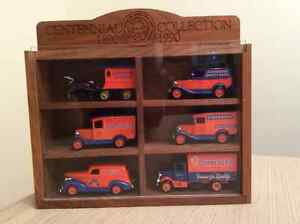 Schneiders meats antique truck collection