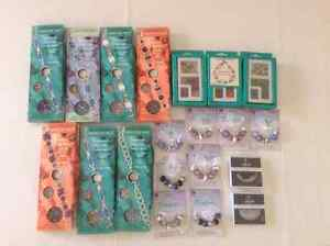 GlassBeaded Watch Kits, Crystal Bracelet Kits, Glass/Metal Beads