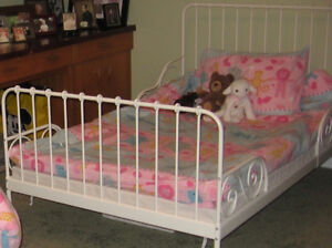 IKEA Toddler/Youth Bed and Mattress