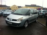 2005 MODEL RENAULT ESPACE 1.9 DCI EXPRESSION FACTORY DVD FULL MOT *SALE*